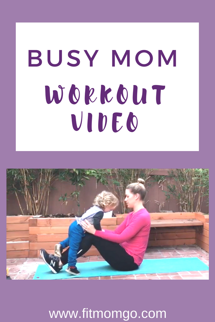 Busy Mom Workout Video