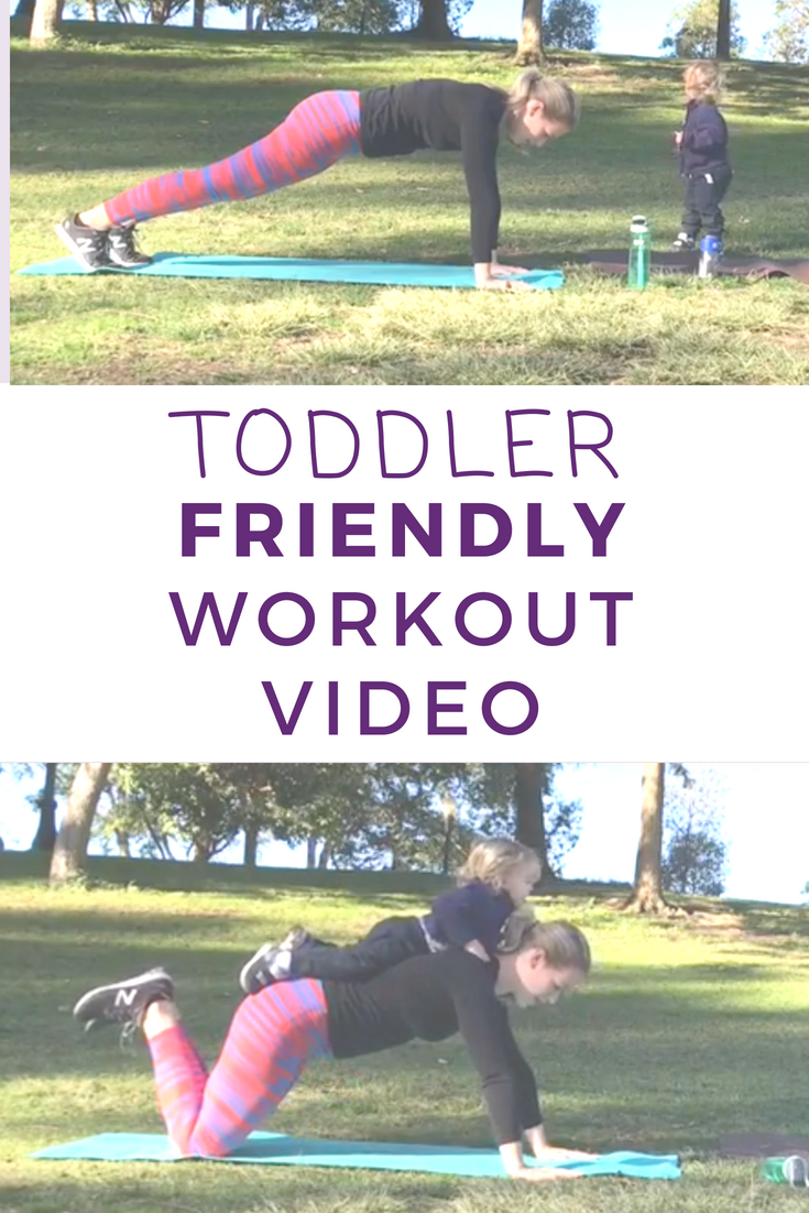 Toddler Friendly Workout Video