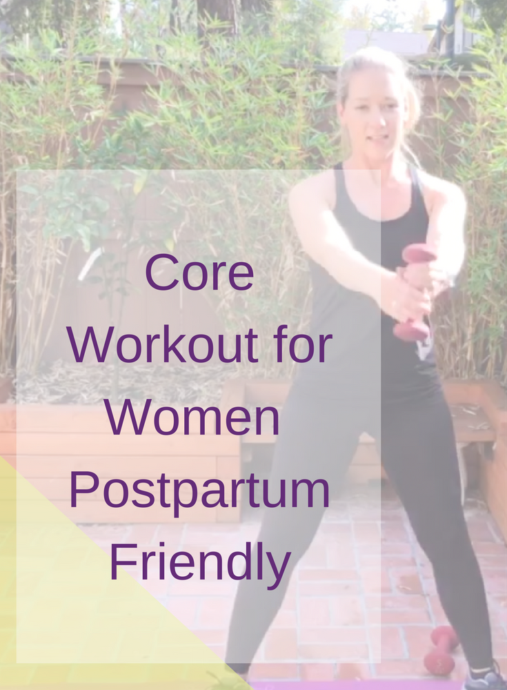 Core Workout for Women | Postpartum Friendly