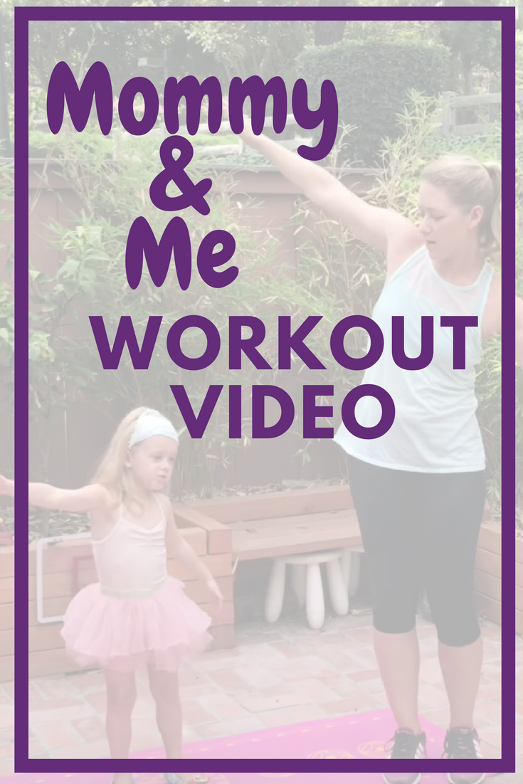 Mom and Toddler Exercise