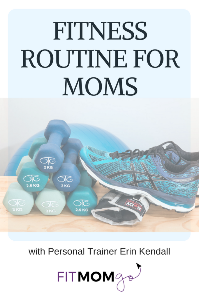 Fitness Routine Video for Moms with Personal Trainer Erin Kendall