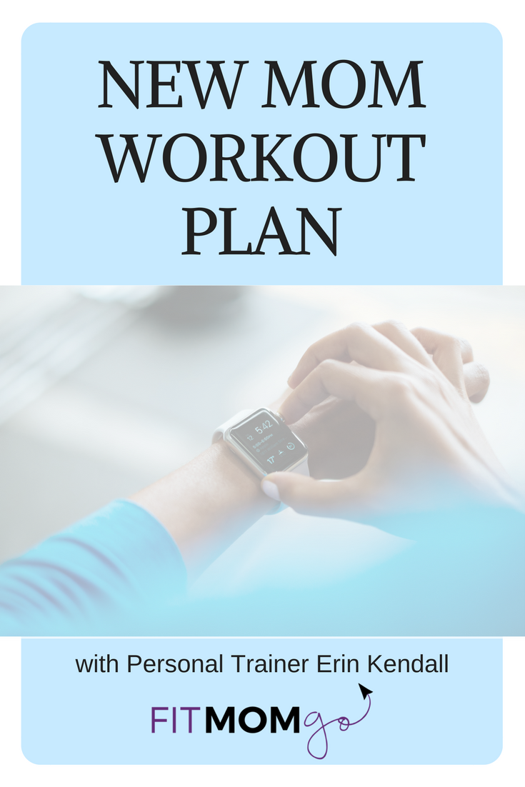 New Mom Workout Plan with Erin Kendall, Personal Trainer, from Fit Mom GO!