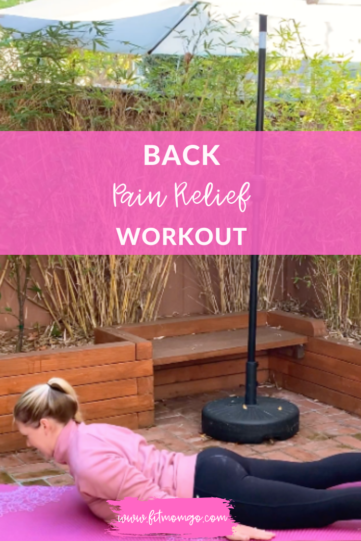 Back Pain Relief Workout Video
