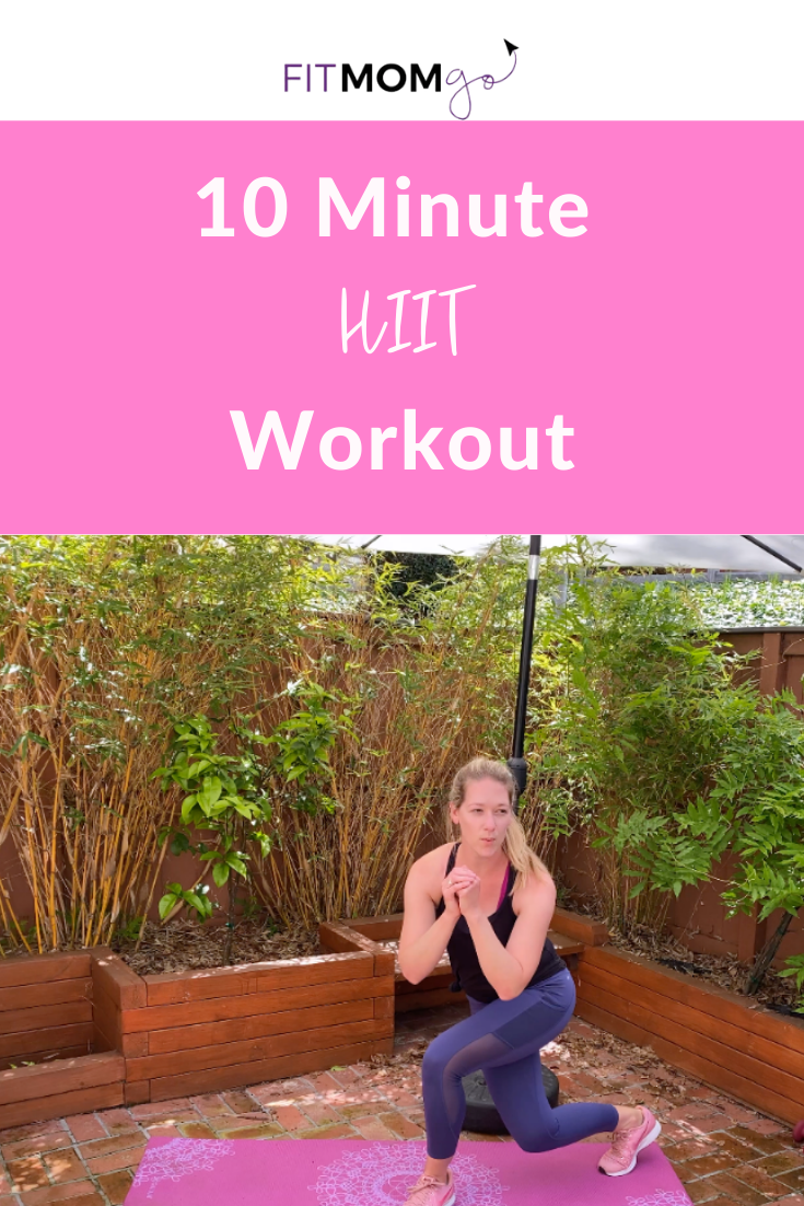 10  Minute HIIT Workout Video #10minutehiitworkout #hiitworkout #hiitworkoutvideos