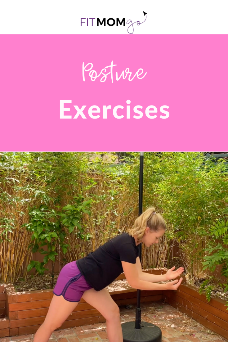 Exercises to Improve your posture with Erin Kendall, Personal Trainer #Postureexercises #improveyourposture #exercisestoimproveposture