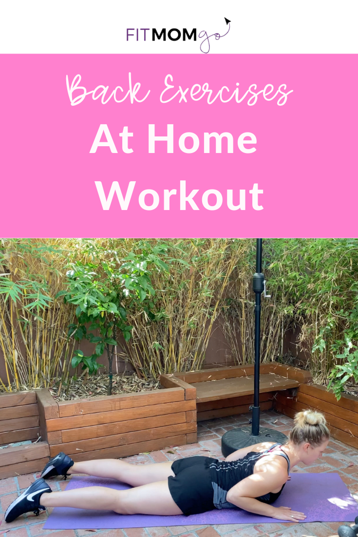 Back Exercises At Home Workout Video With Personal Trainer Erin Kendall #BackExercises #AtHomeWorkout #10MinuteWorkout