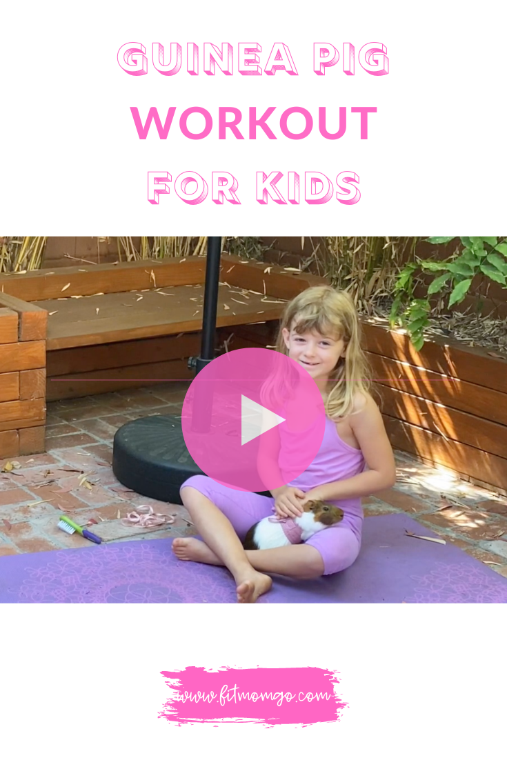 Guinea Pig Workout For Kids Video #KidsWorkout #workoutforkids