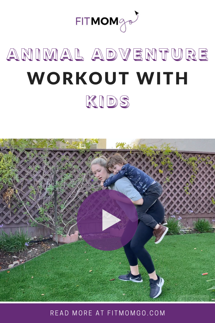 Animal Adventure Workout With Kids #workoutwithkids #kidsworkout #mommyandmeworkout #workoutvideos #workoutforkids