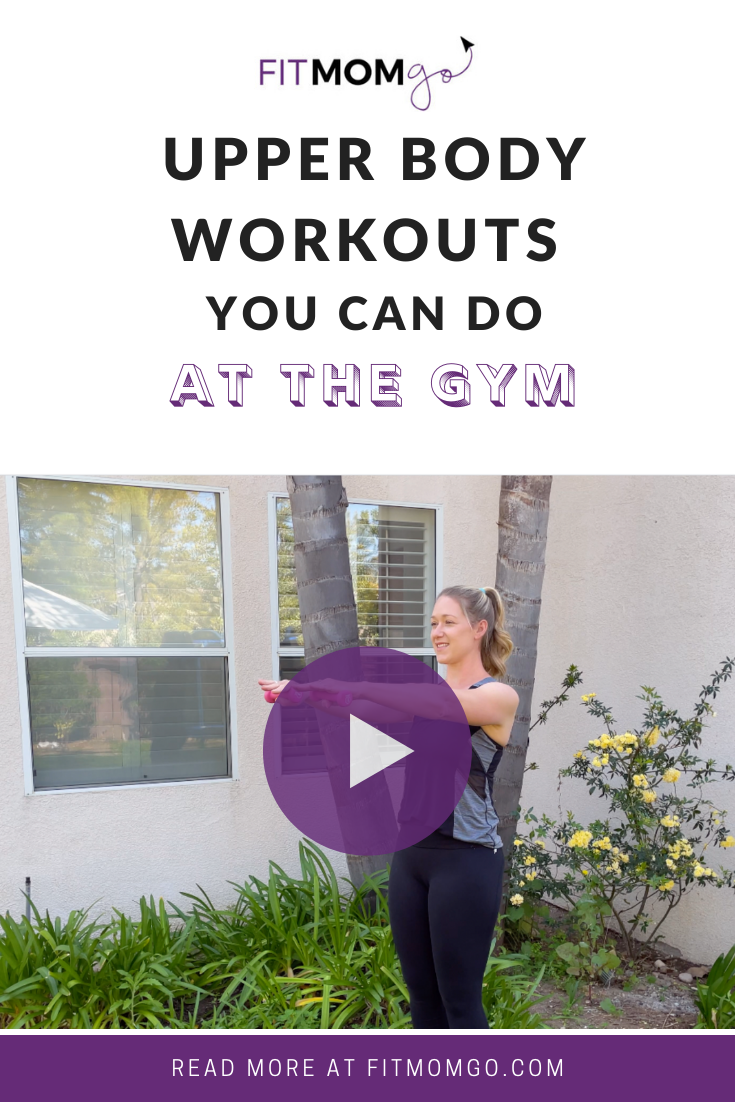 Upper Body Workouts you can do At The Gym #upperbodyworkout #armworkout #backworkout #shoulderworkout #workoutsatthegym #quickworkouts #workoutvideos #workoutsforwomen