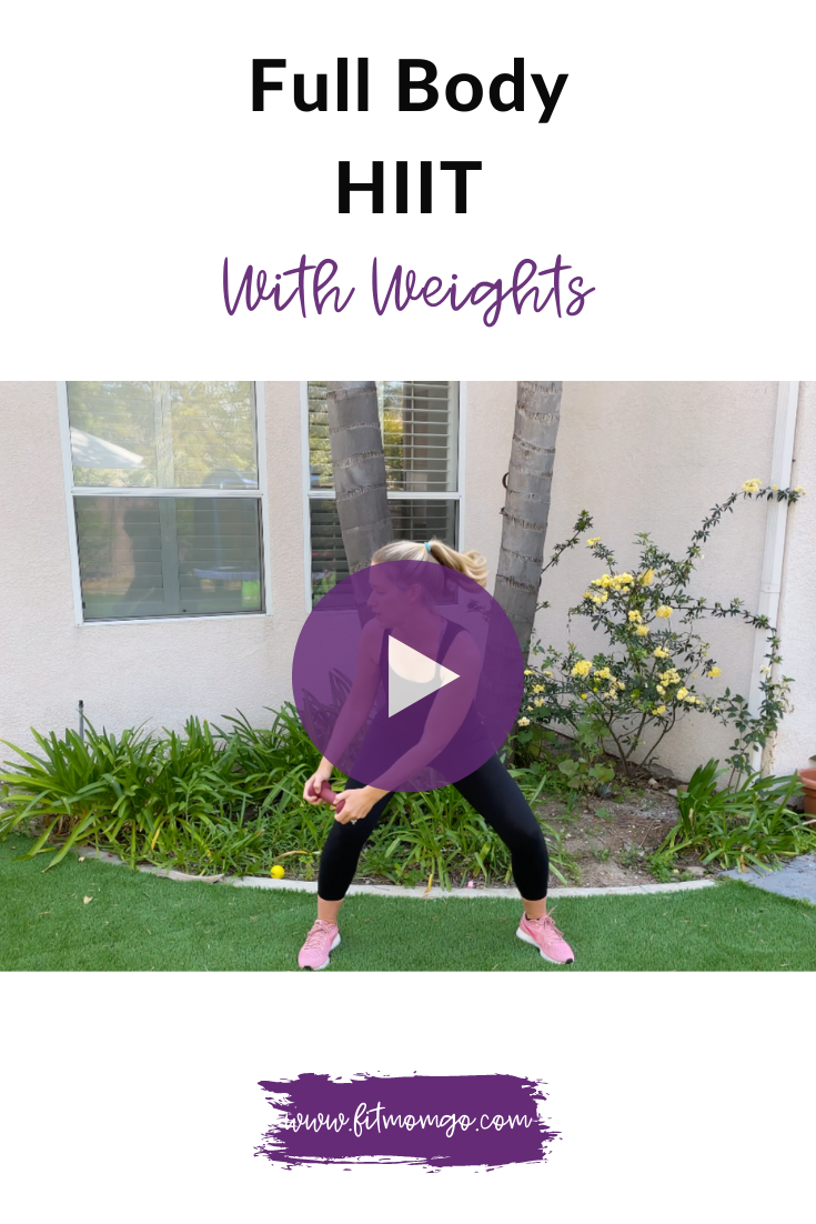 Full Body HIIT With Weights #HIITworkout #fullbodyworkout #quickworkout #workoutvideos