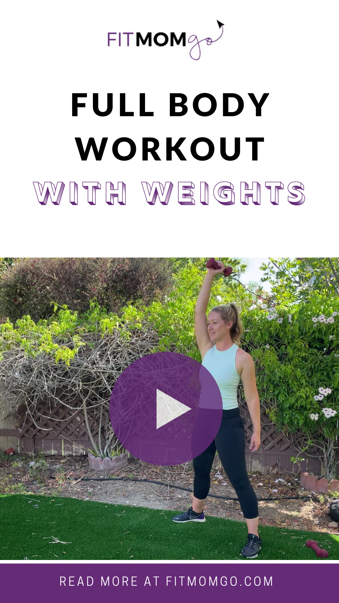Full Body Workout with Weights #fullbodyworkout #workoutwithweights #dumbbells #workoutwithdumbbells #quickworkout #workoutvideos #postpartumfitness